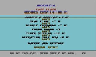 A jugar con.... C64 Arcades Compilation 1