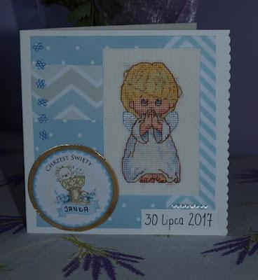 kartka z okazji chrztu świętego