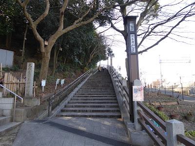 式内意賀美神社北坂