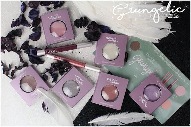 Grungelic collection Neve cosmetics  packaging recensione, pareri, makeup, consigli, comparazioni