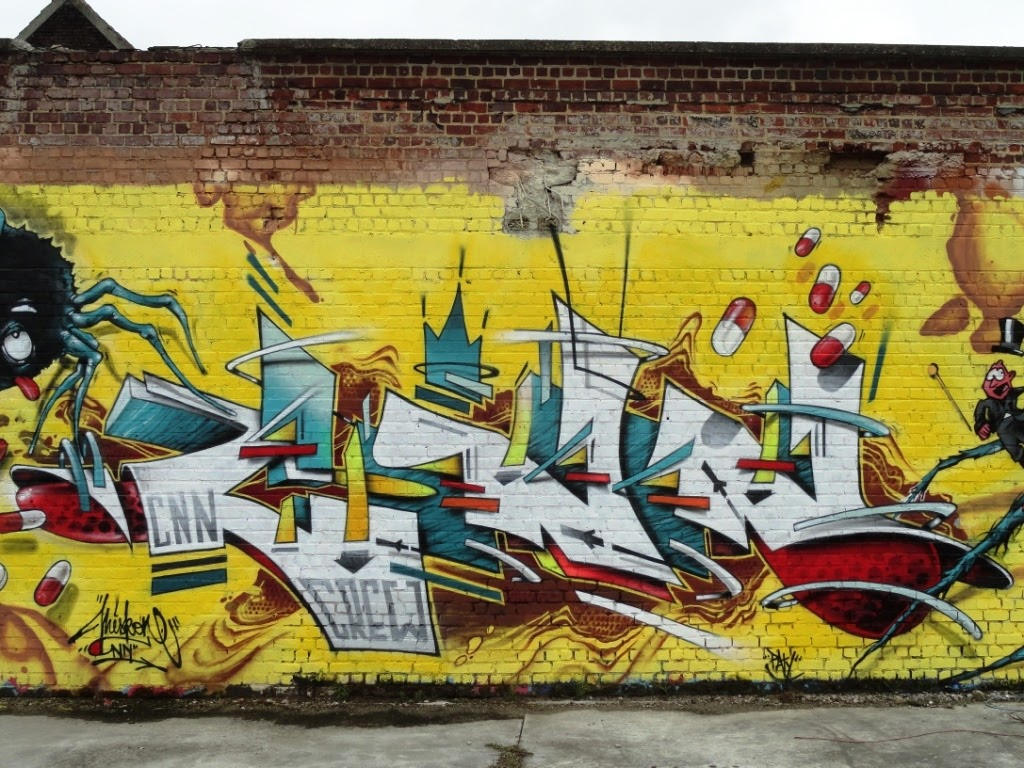 Graffiti Art On Trains: Stromae
