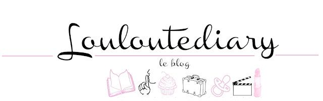 ma bannière de blog louloutediary
