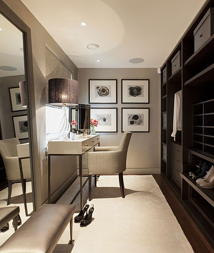 We love ladies dressing rooms the london design - Dressing room designs in the home ...