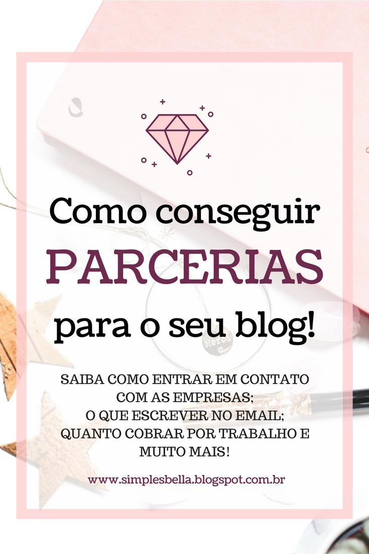 Saiba como funciona a parceria entre blogs e marcas, como entrar em contato, como e quanto cobrar.