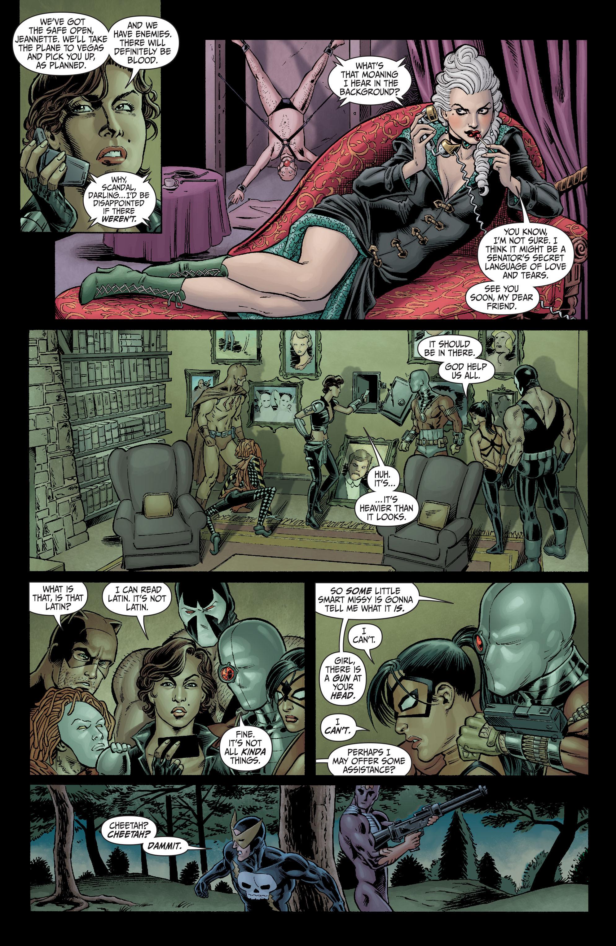 Read online Secret Six (2008) comic -  Issue #3 - 15