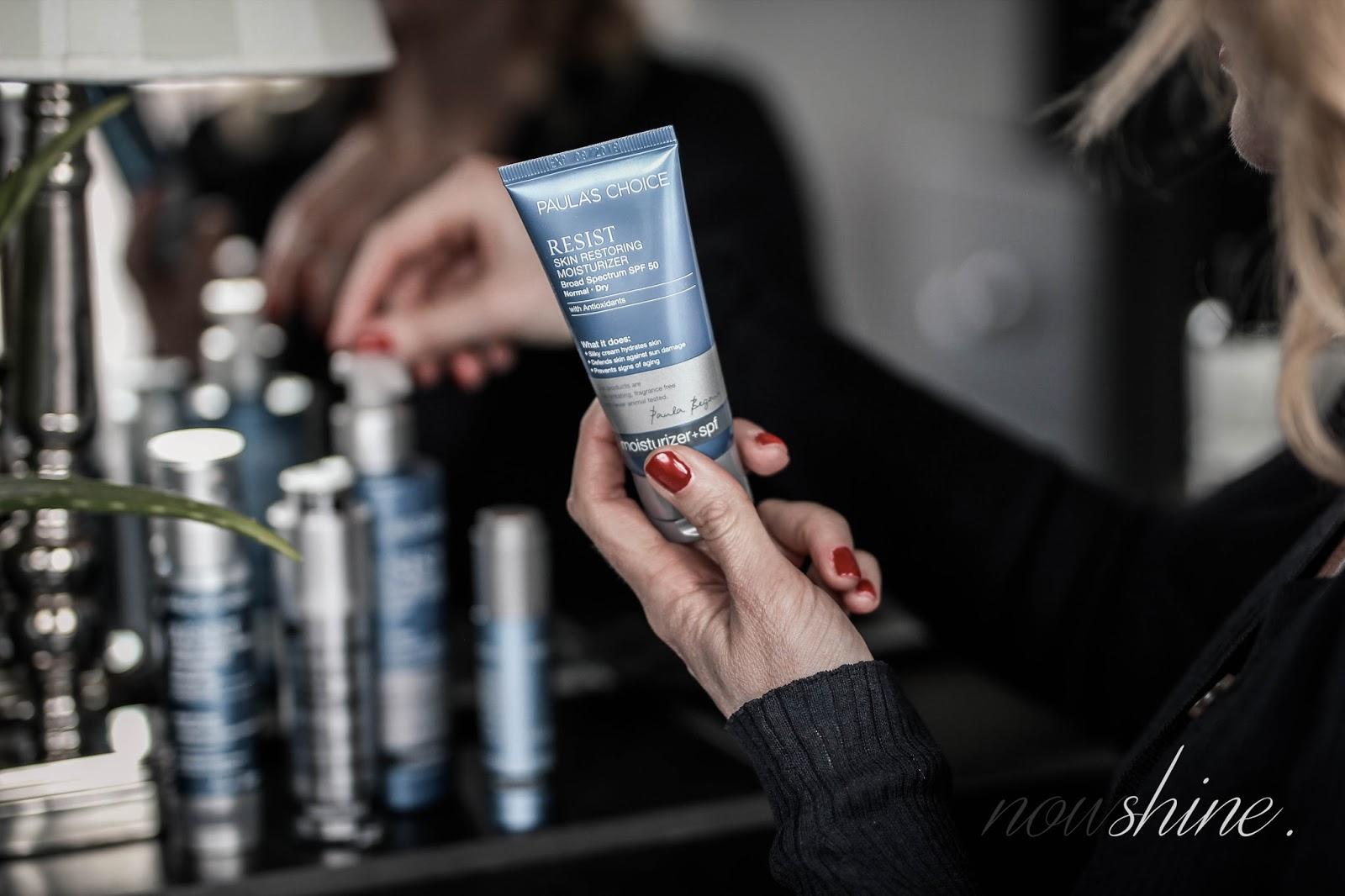 Hochwertige Anti-Aging Pflege von Paula´s Choice/ Nowshine Beauty Blog über 40