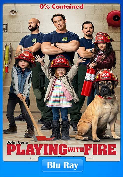 Playing With Fire 2019 BluRay 720p Hindi Telugu Tamil ESubs x264 | 480p 300MB | 100MB HEVC