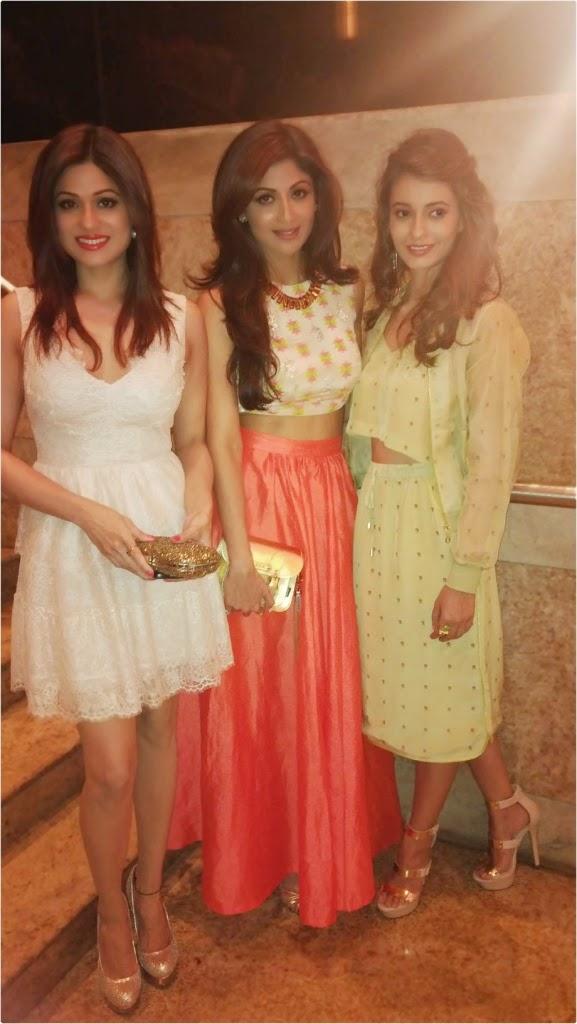 Actor-Producer Shilpa Shetty attends LIFW Summer/Resort 2014 for Neeta Lulla
