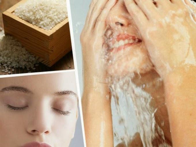 Agua de arroz, o como tener una piel de seda