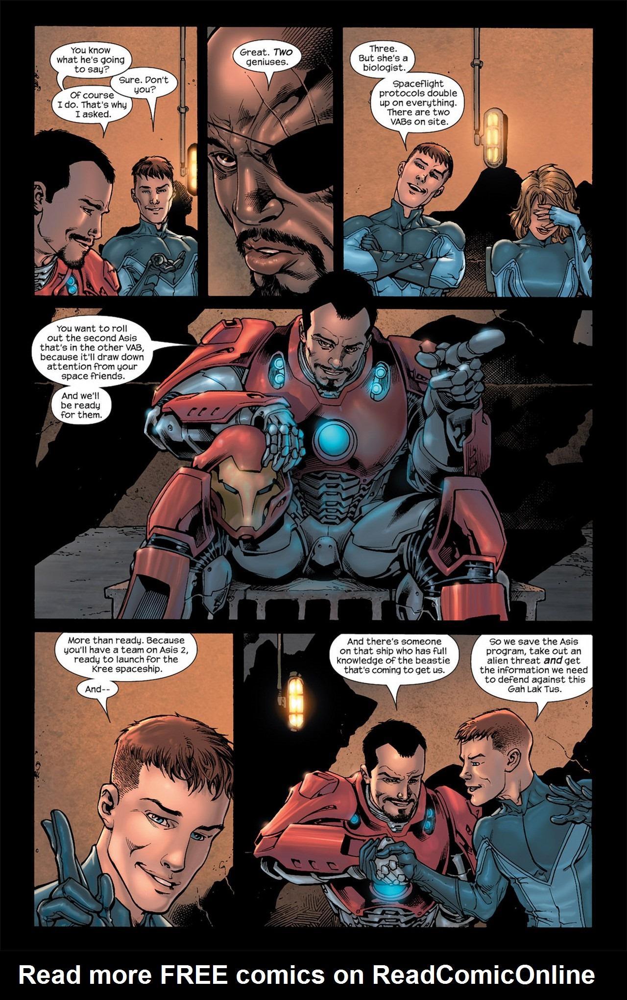Read online Ultimate Secret comic -  Issue #3 - 8