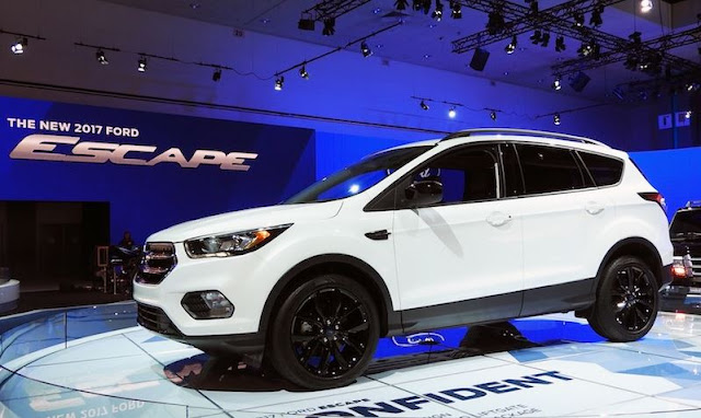 2017 Ford Escape 2.0 EcoBoost AWD Review And Price