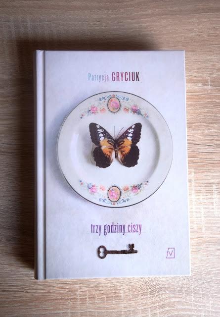 """Recenzje #57 - """"Trzy godziny ciszy"""" - okładka książki Patrycji Gryciuk pt. """"Trzy godziny ciszy"""" - Francuski przy kawie"""