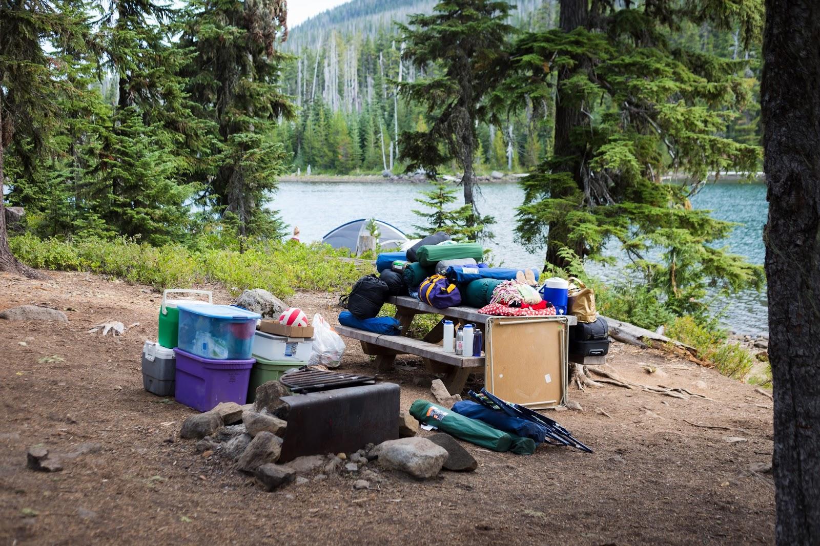 Olallie Lake Peninsula Campground