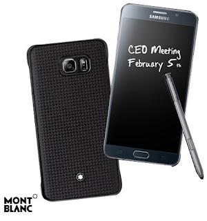 Harga Samsung Galaxy Note 5 Edisi MontBlanc