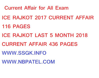 Current Affair for All Exam 2017 And Last 5 Month 2018