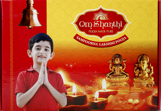 Cycle Pure Agarbathies - Bring home the Goddess of Wealth with Om Shanthi Sampoorna Lakshmi Pooja Pack