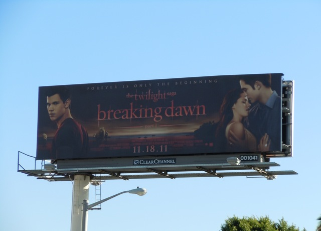 Twilight Breaking Dawn Part 1 billboard