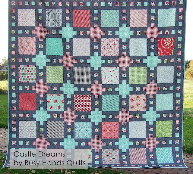 Castle Dreams Quilt Pattern by Myra Barnes