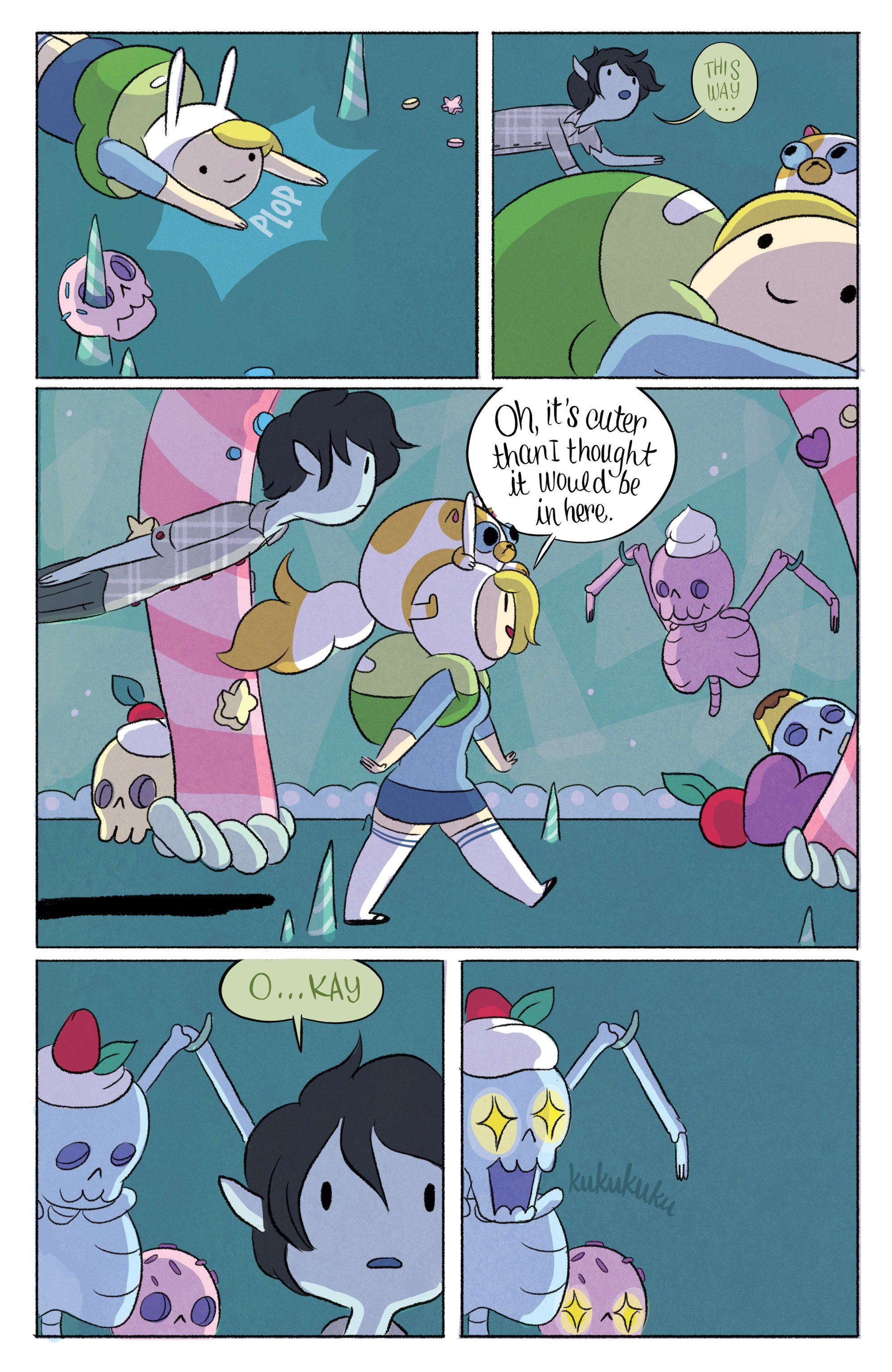 Read online Adventure Time with Fionna & Cake comic -  Issue #3 - 12