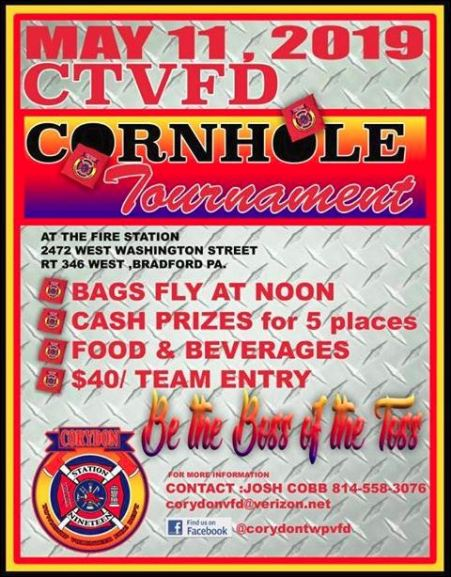 5-11 Cornhole Tournament, CTVFD