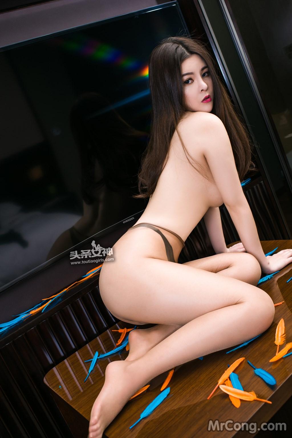 Image MrCong.com-TouTiao-2017-02-11-Tong-An-Qi-015 in post TouTiao 2017-02-11: Người mẫu Tong An Qi (童安琪) (27 ảnh)