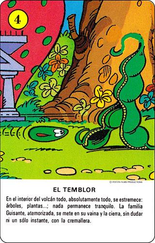 Baraja Los Fruittis Carta amarilla 4