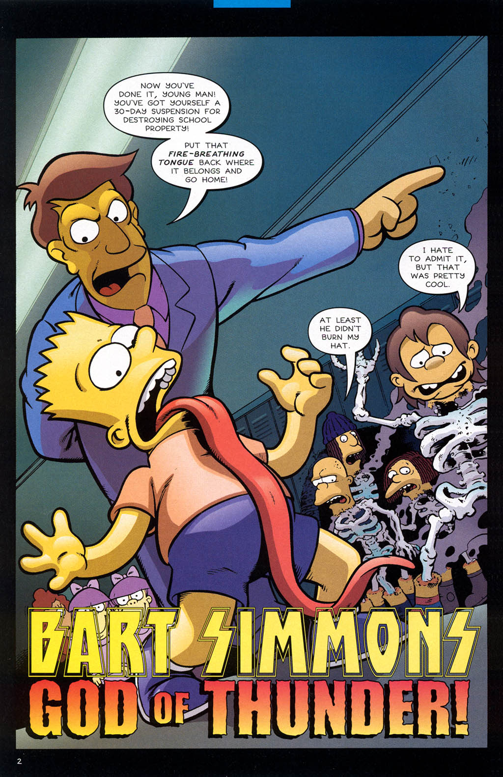Read online Treehouse of Horror comic -  Issue #10 - 5