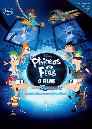 Poster do filme Phineas e Ferb: Através da segunda dimensão