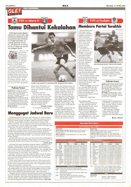 LIGA INDONESIA: PSDS VS JAKARTA FC TAMU DIHANTUI KEKALAHAN