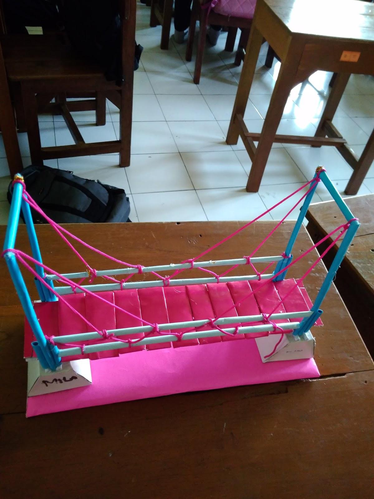 Cara Membuat Miniatur Jembatan Dari Stik Es Krim : membuat, miniatur, jembatan, TUTORIAL, GAMBAR, TEKNIK:, Galeri, Gambar, Sketsa, Miniatur, Jembatan, Terbaru