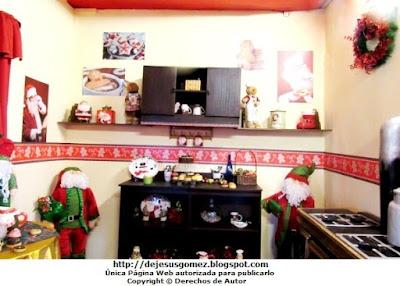Casa de Papa Noel (Santa Claus), cocina de su Casa en la Villa de Papa Noel. Foto de la Cocina de Papa Noel tomada por Jesus Gómez