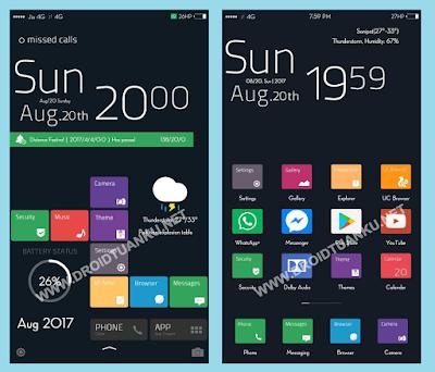 Theme Windows 10 Pro Mtz untuk Xiaomi