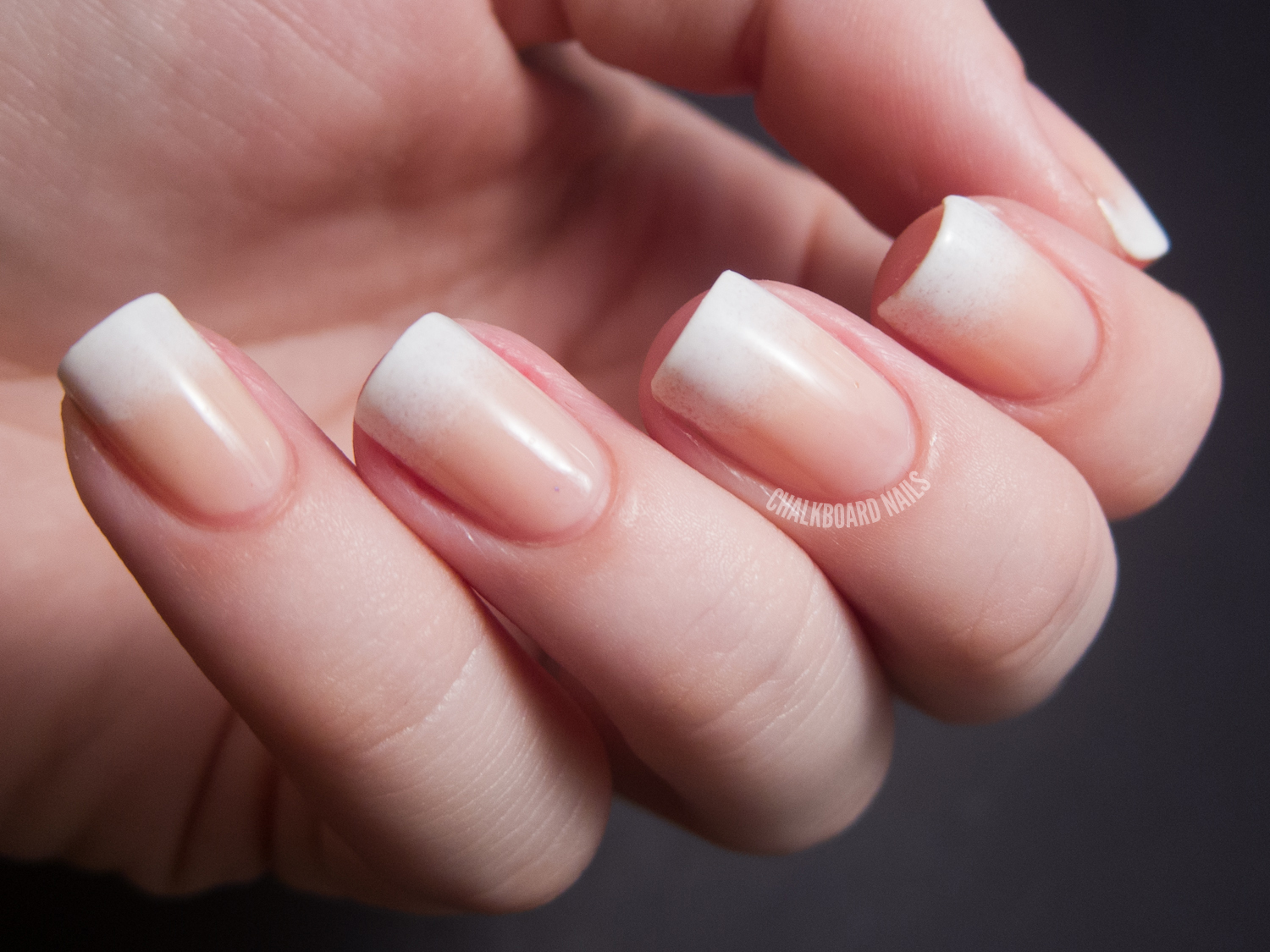 31DC2012: Day 10, Gradient Nails | Chalkboard Nails | Nail ...