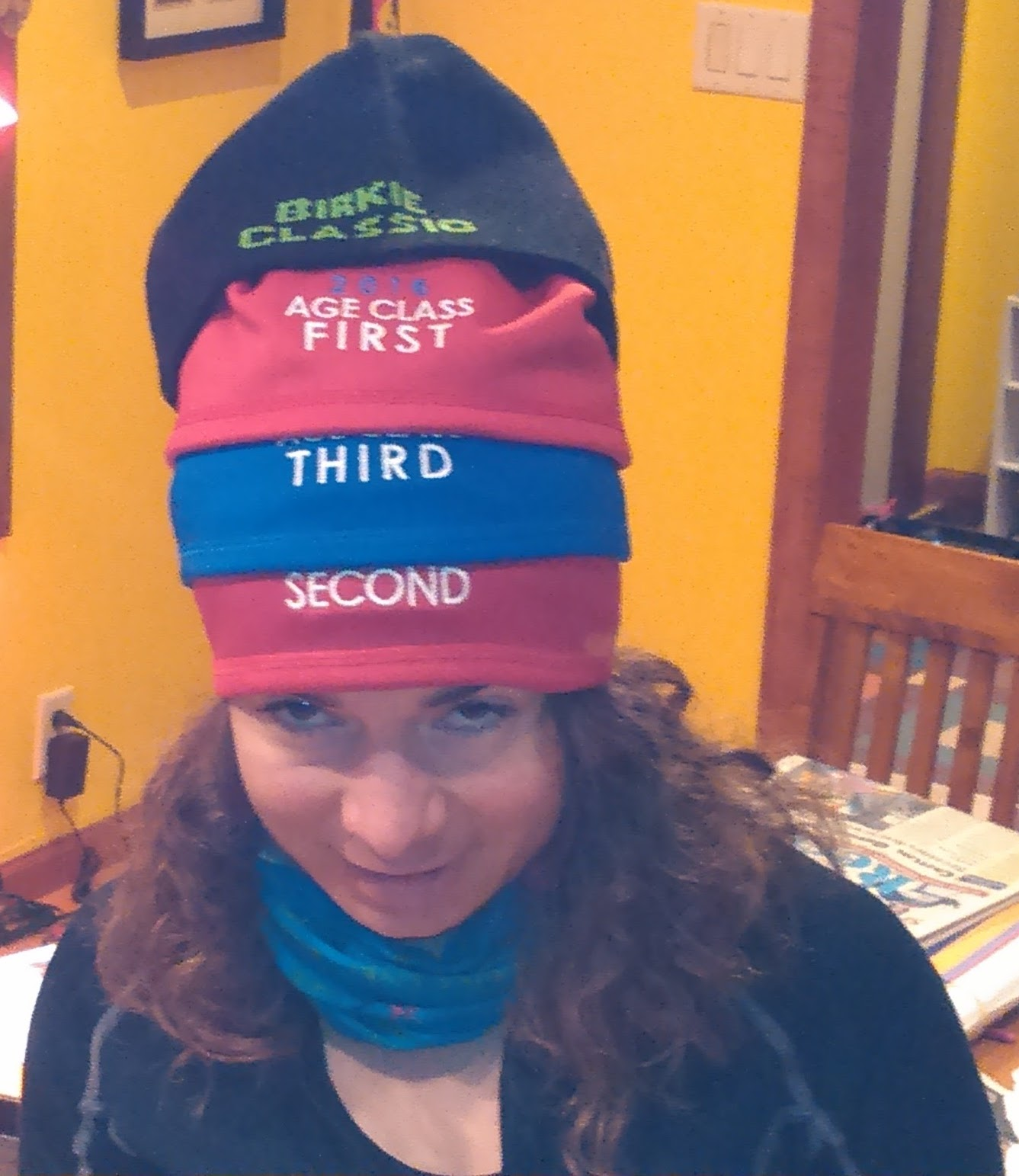 f59140fe4e871 No Birkie 2017 means I can t collect anymore age class hats...and clearly  my collection is already complete! Photo  Erik