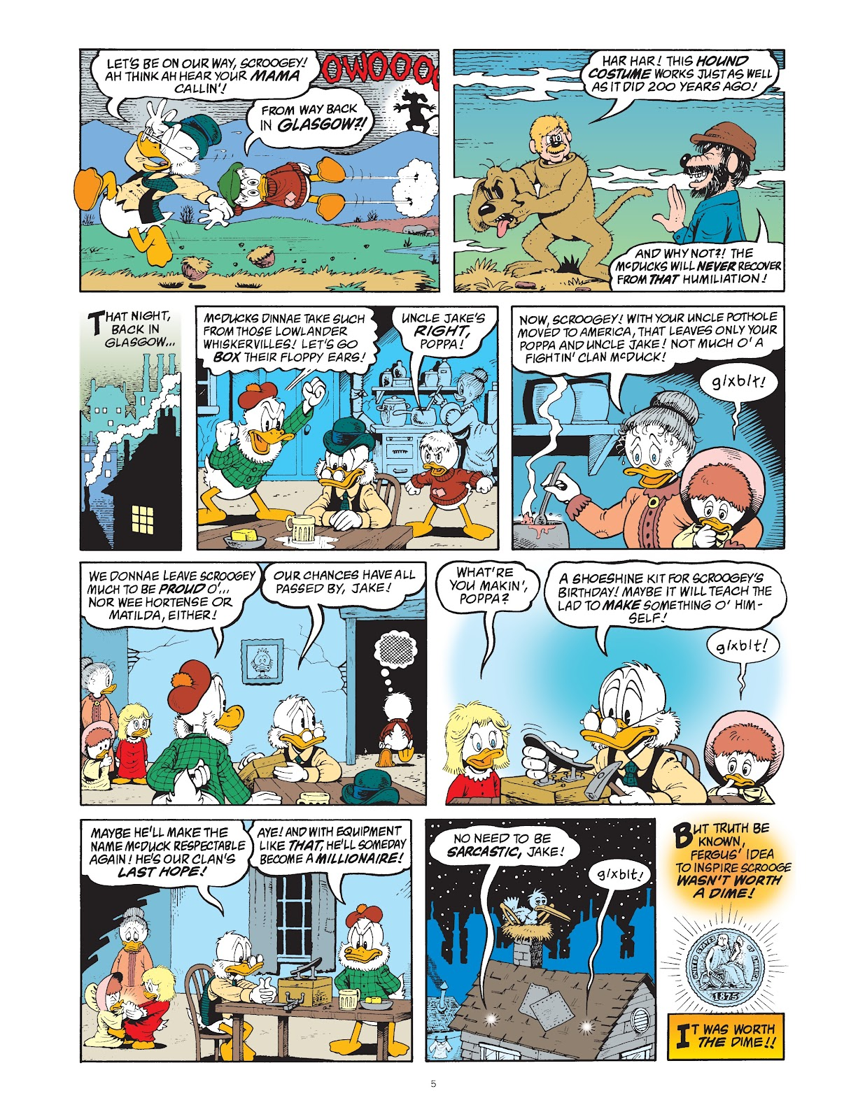 Read online The Complete Life and Times of Scrooge McDuck comic -  Issue # TPB 1 (Part 1) - 13