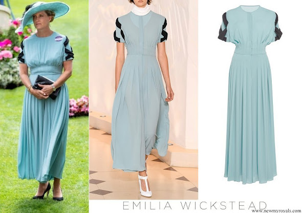 Countess Sophie wore Emilia Wickstead Vida Jumpsuit