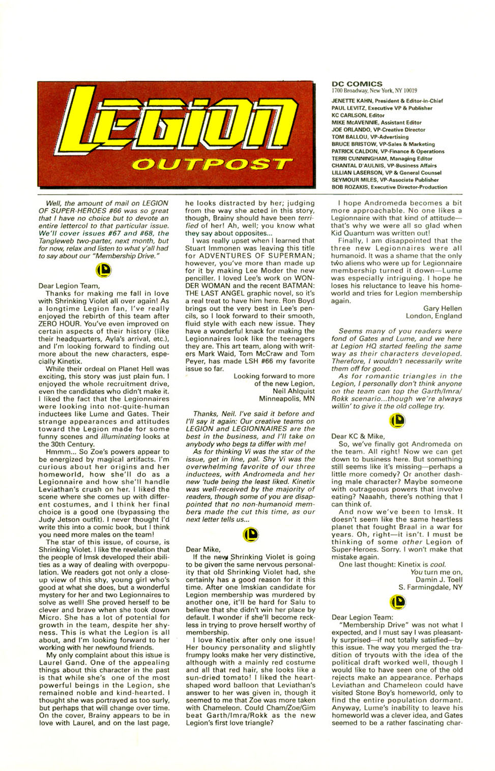 Legion of Super-Heroes (1989) 72 Page 24