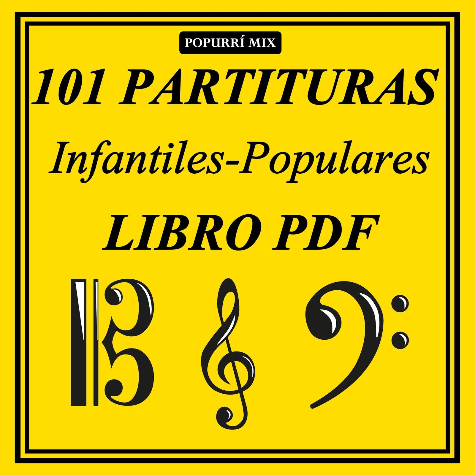 Las Tres Hojas Partitura de Flauta, Violín, Saxofón Alto, Trompeta, Viola, Oboe, Clarinete, Saxo Tenor, Soprano Sax, Trombón, Fliscorno, chelo, Fagot, Barítono, Bombardino, Trompa o corno, Tuba...