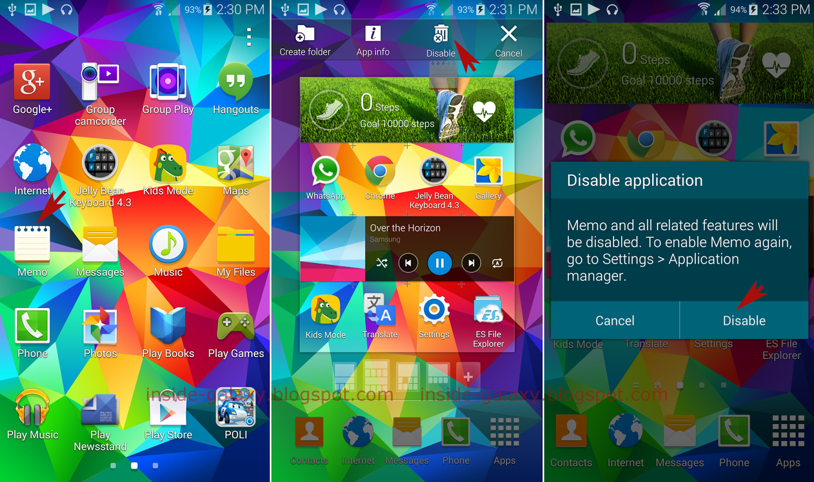 Galaxy S5 Apps Download
