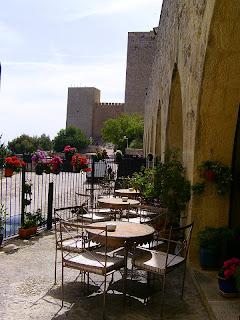 Terrace, Parador de Jaen