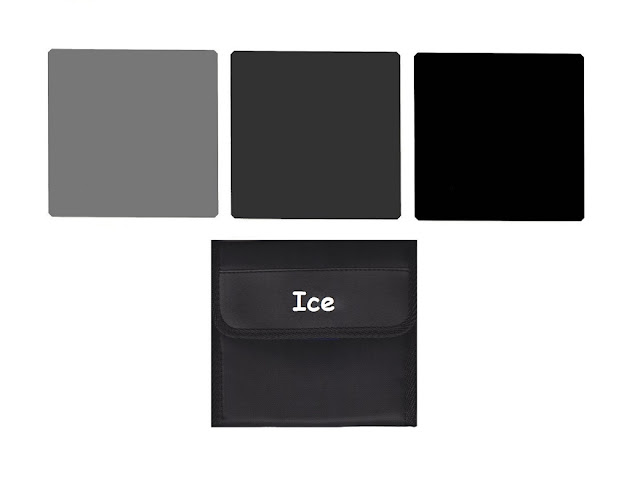 ICE 150 mm Optical Glass ND Filter Set and pouch