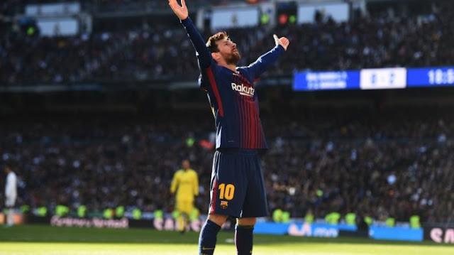 Pecundangi Real Madrid di El Clasico, Messi Unggah Foto Ini di Facebook