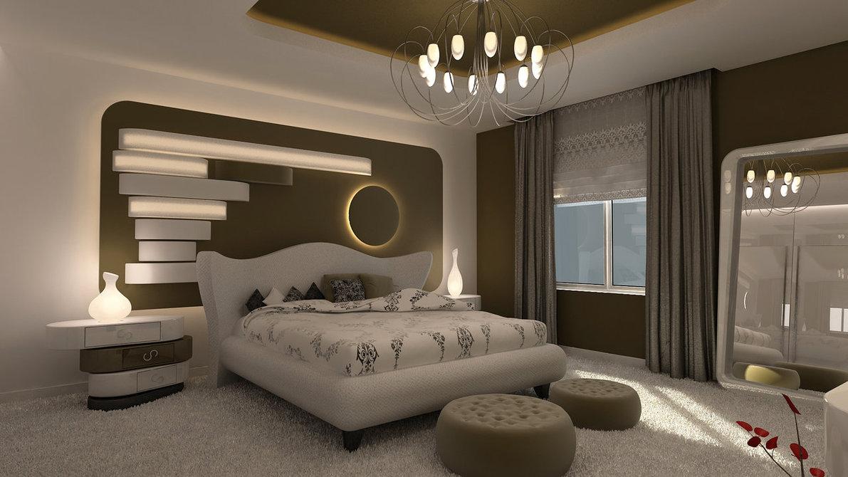 belle chambre moderne décoration