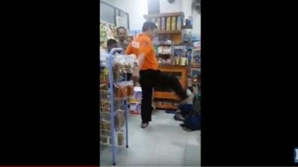 Viral Polisi Tendang Seorang Ibu yang Menangis di Minimarket, Ini Respon Mabes Polri