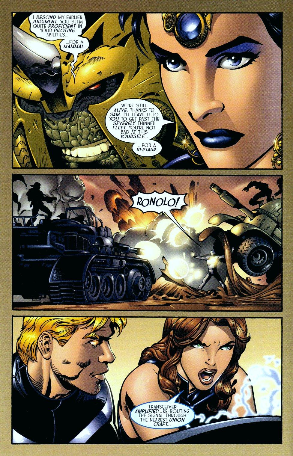 Read online Sigil (2000) comic -  Issue #14 - 13