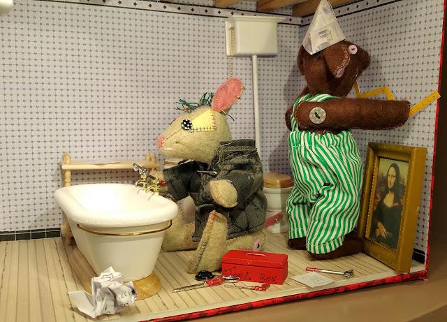 lavabo, basin, bain, bath, tableau, mona lisa, frame,la joconde