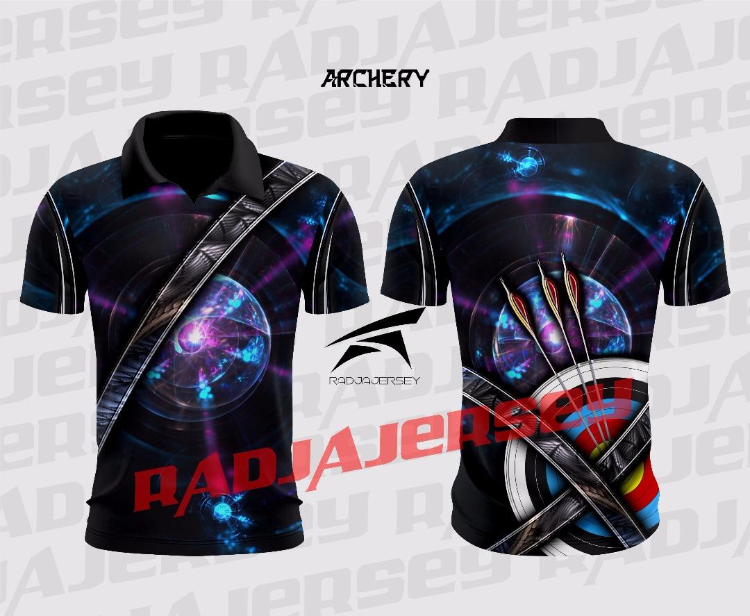Pabrik Kaos Archery Custom Baju Panahan Anak Printing Murah