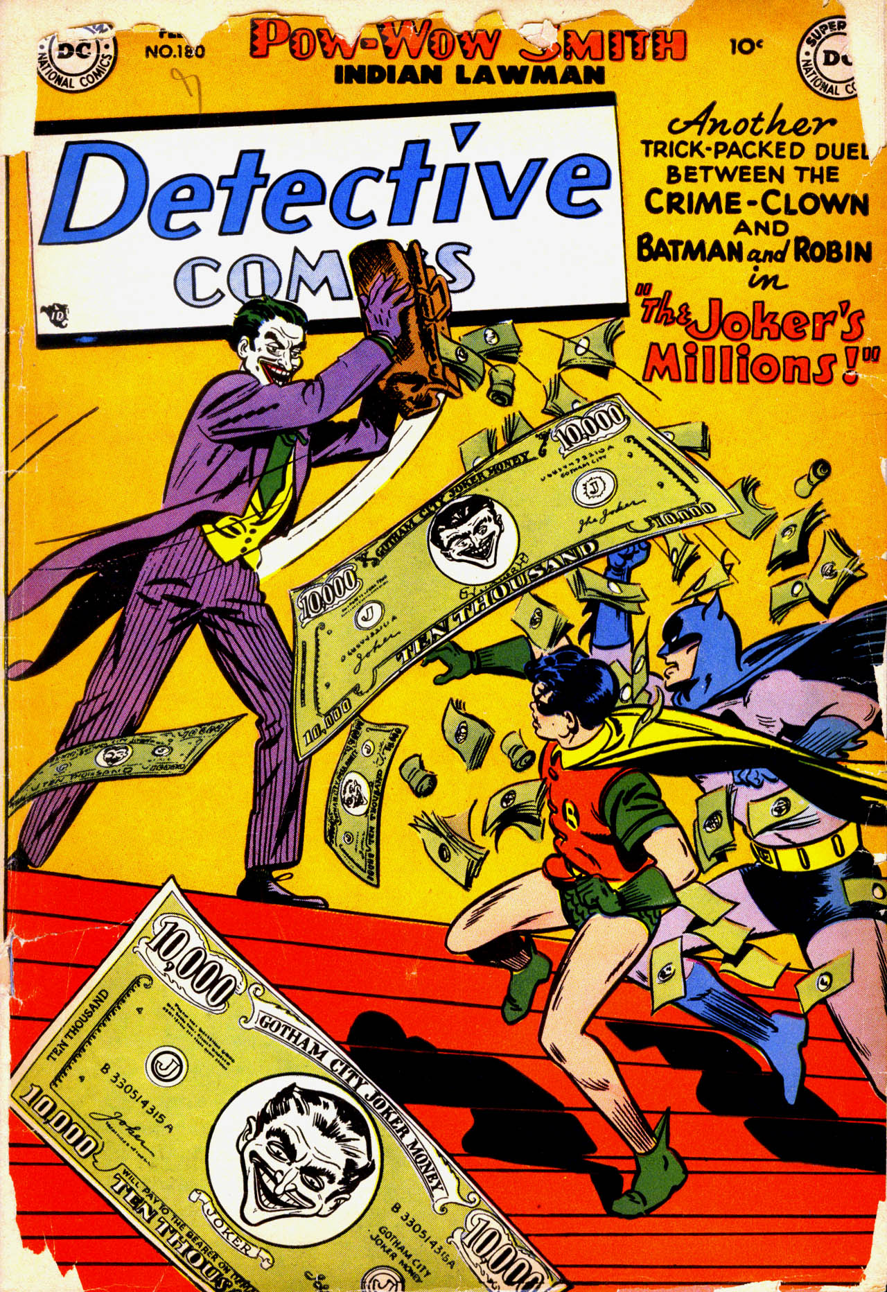 Detective Comics (1937) 180 Page 1
