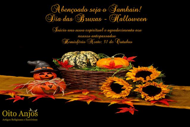 31 de outubro : Dia das Bruxas Halloween - Samhain