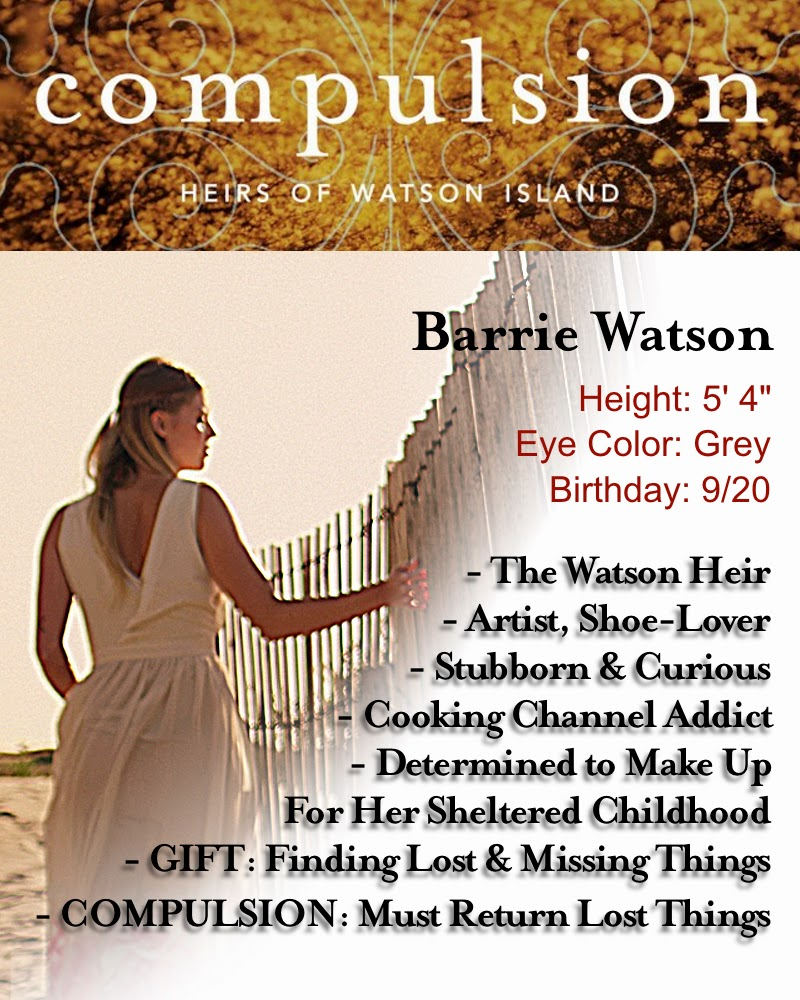 Barrie Character Card